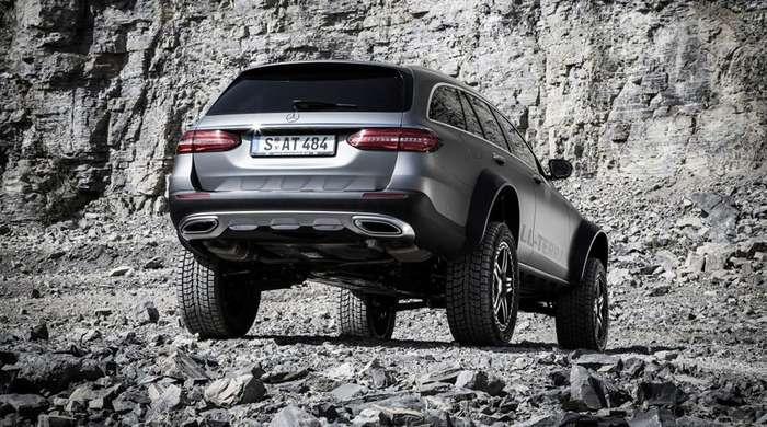 Mercedes сделал экстремальный внедорожник универсал