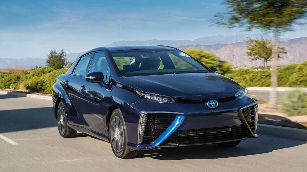 Машины на водородном топливе