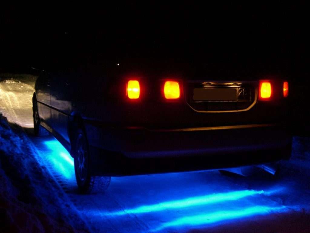 Neonovaya podsvetka na avto 2 1024x771 - Неоновая подсветка на авто
