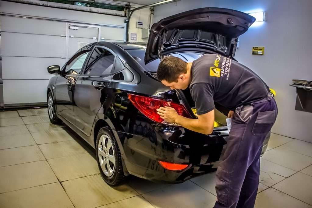 Как тонировать фары автомобиля своими руками?