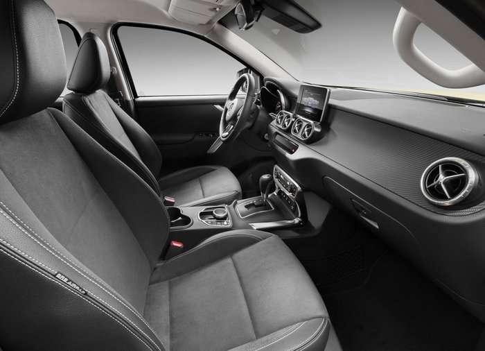 Новый пикап Mercedes X-Class, обзор