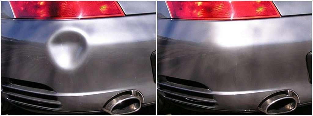 Как отремонтировать вмятину на автомобиле своими силами?
