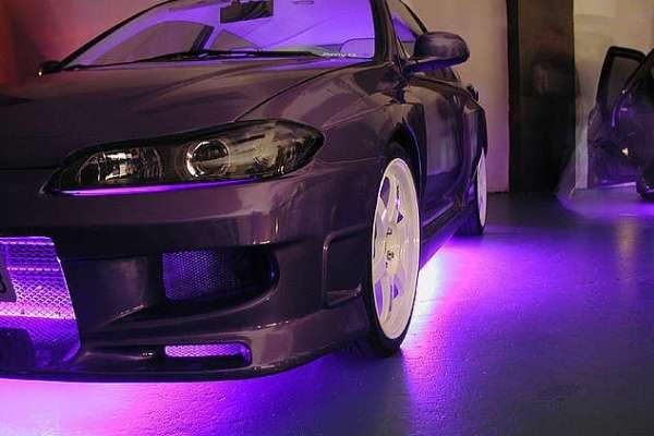 Штраф за подсветку днища машины