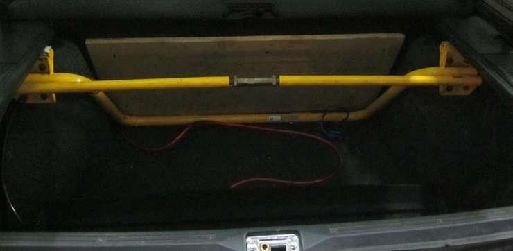 Установка распорки задних стоек на автомобиль! Фото, видео!