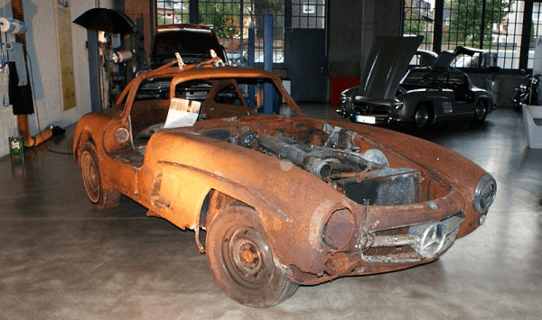 Реставрация старого автомобиля! Этапы работ!
