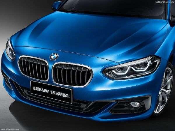 Обзор BMW 1-Series Sedan 2017. Внешний вид модели, интерьер, технические характеристики