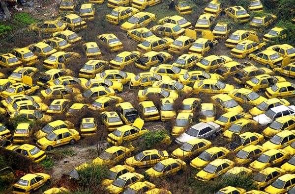 Топ-10 автомобильных кладбищ мира!