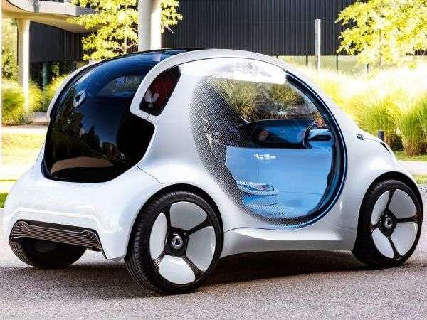 Smart Vision EQ ForTwo Concept 2017: внешний вид, характеристики, цены и комплектации