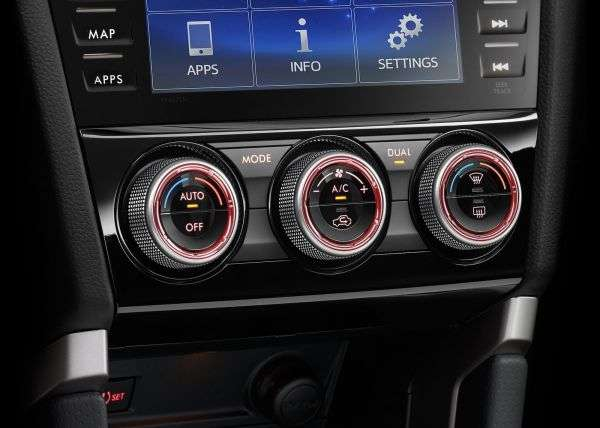 1505853413 panel klimat kontrolya - Обзор Subaru Forester: технические характеристики кроссовера, цена и комплектации