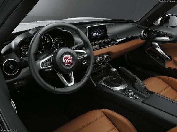 1506497365 3 - Обзор Fiat 124 Spider 2017: технические характеристики, цены