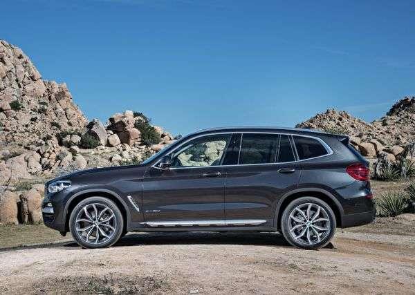 Обзор BMW X3 2017: технические характеристики, комплектации и цена