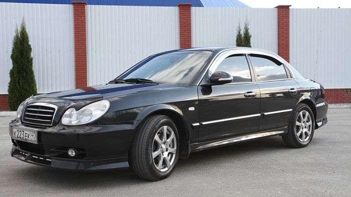 Henday Sonata 2004 2011 vid sboku opt - Выбираем Hyundai Sonata 4 поколения с пробегом