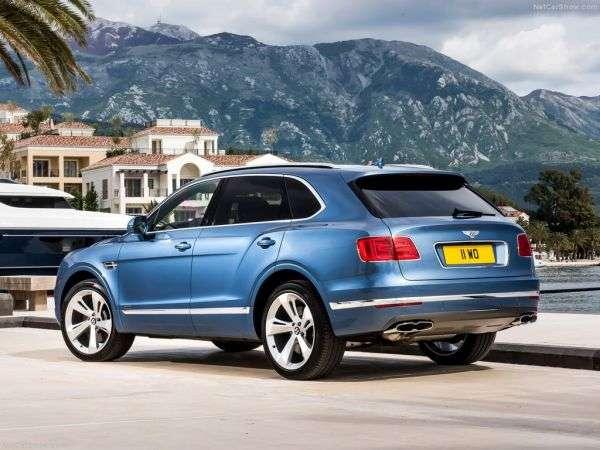 Обзор Bentley Bentayga Diesel 2017: технические характеристики, цены и комплектации