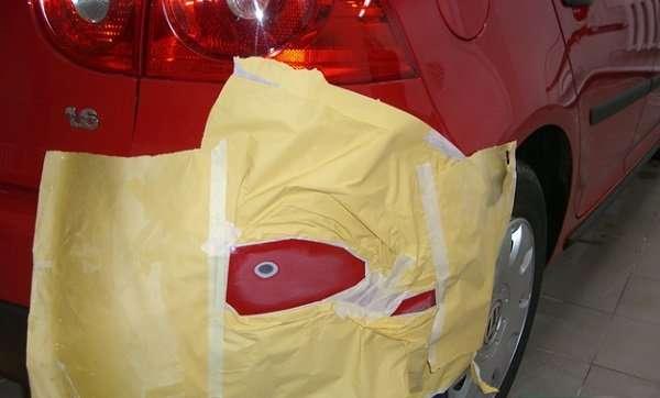 Как покрасить бампер машины своими руками?