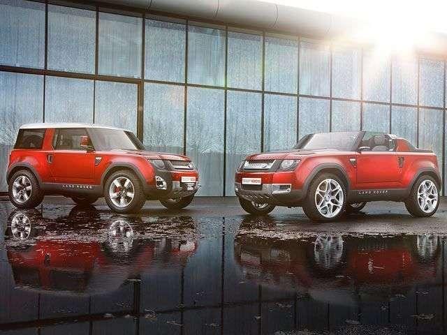 1509750905 dva tipa kuzova novogo land rover defender 2018 - Обзор внедорожника Land Rover Defender 2018: технические характеристики и цена