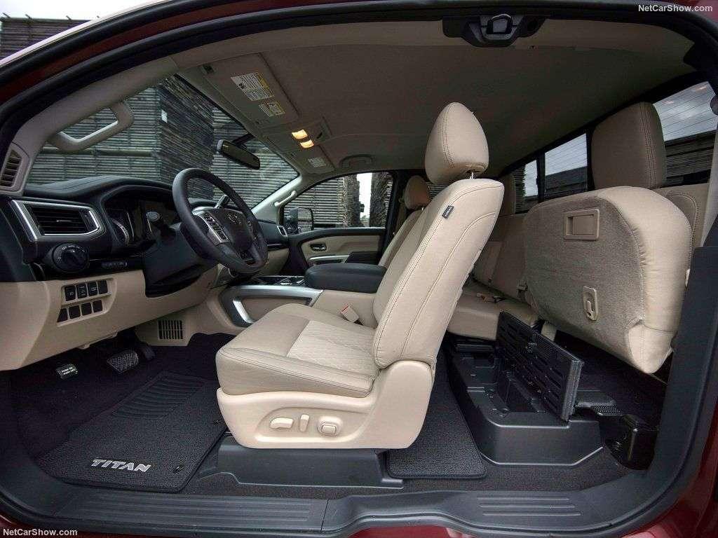 Обзор Nissan Titan King Cab 2017