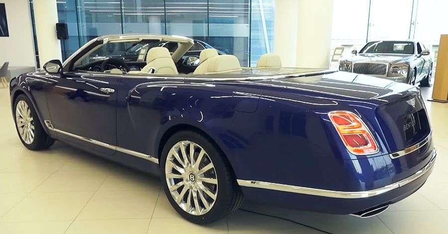 Обзор Bentley Grand Convertible