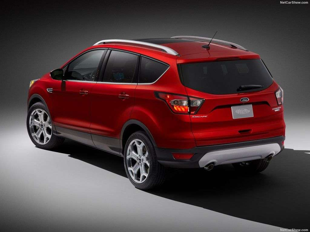 Обзор Ford Escape 2017