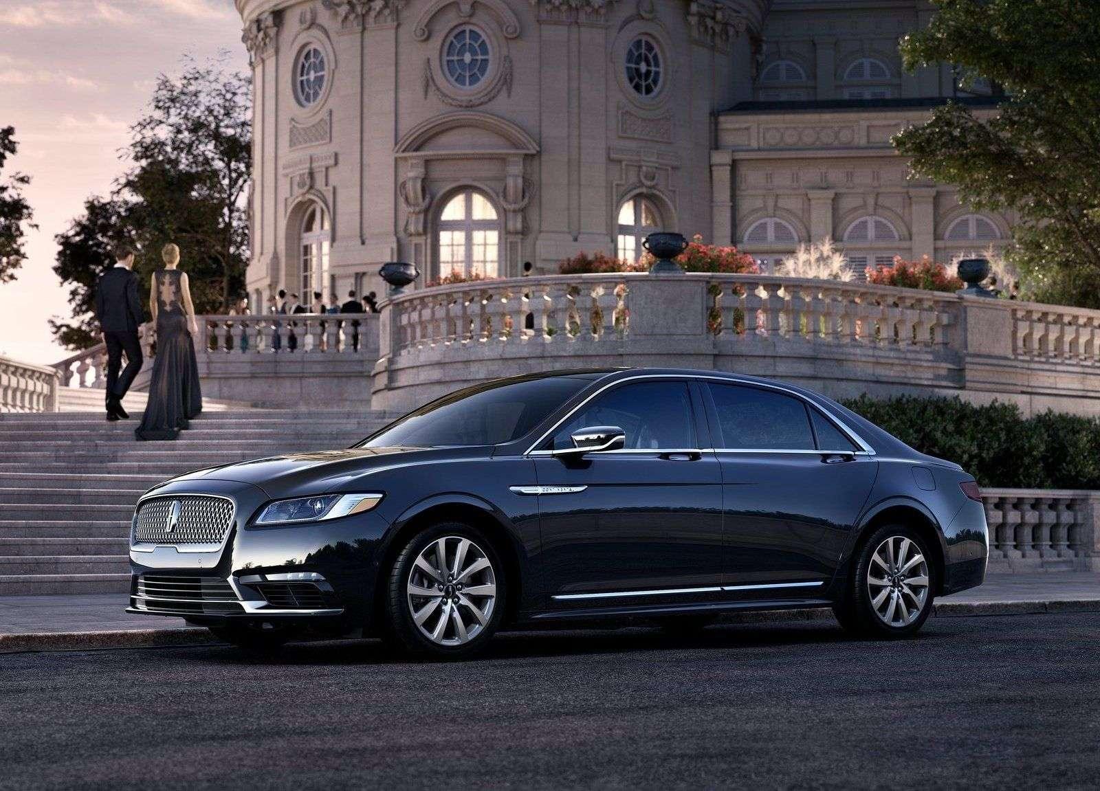Обзор нового Lincoln Continental 2017