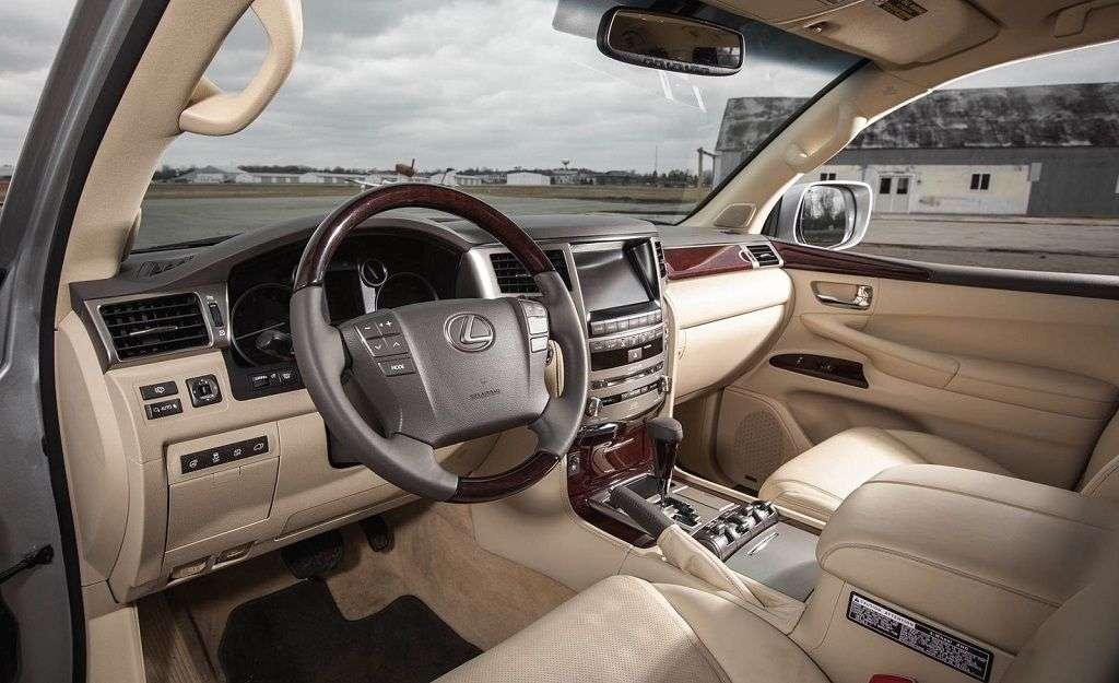 Обзор Lexus LX 570 2017