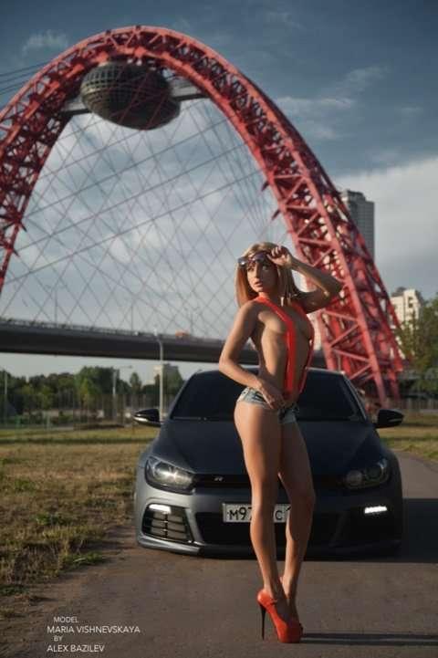 Сексуальные девушки и автомобили (часть 4)
