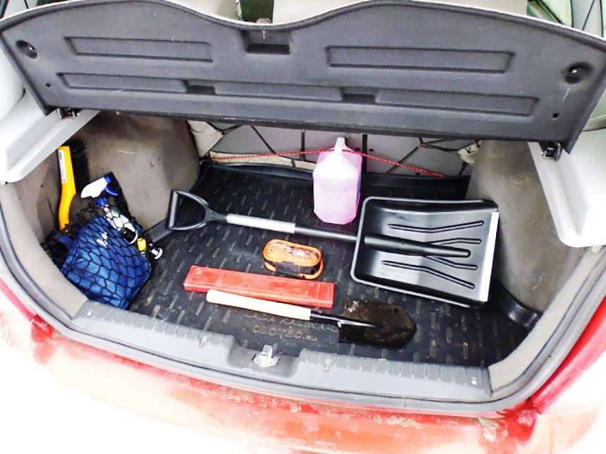 Список вещей, которые обязательно должны быть в автомобиле зимой!