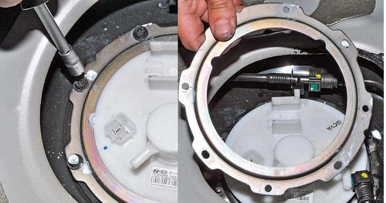 Инструкция по замене топливного насоса