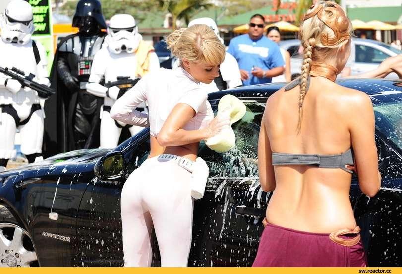 Сексуальные девушки и автомобили (часть 30)