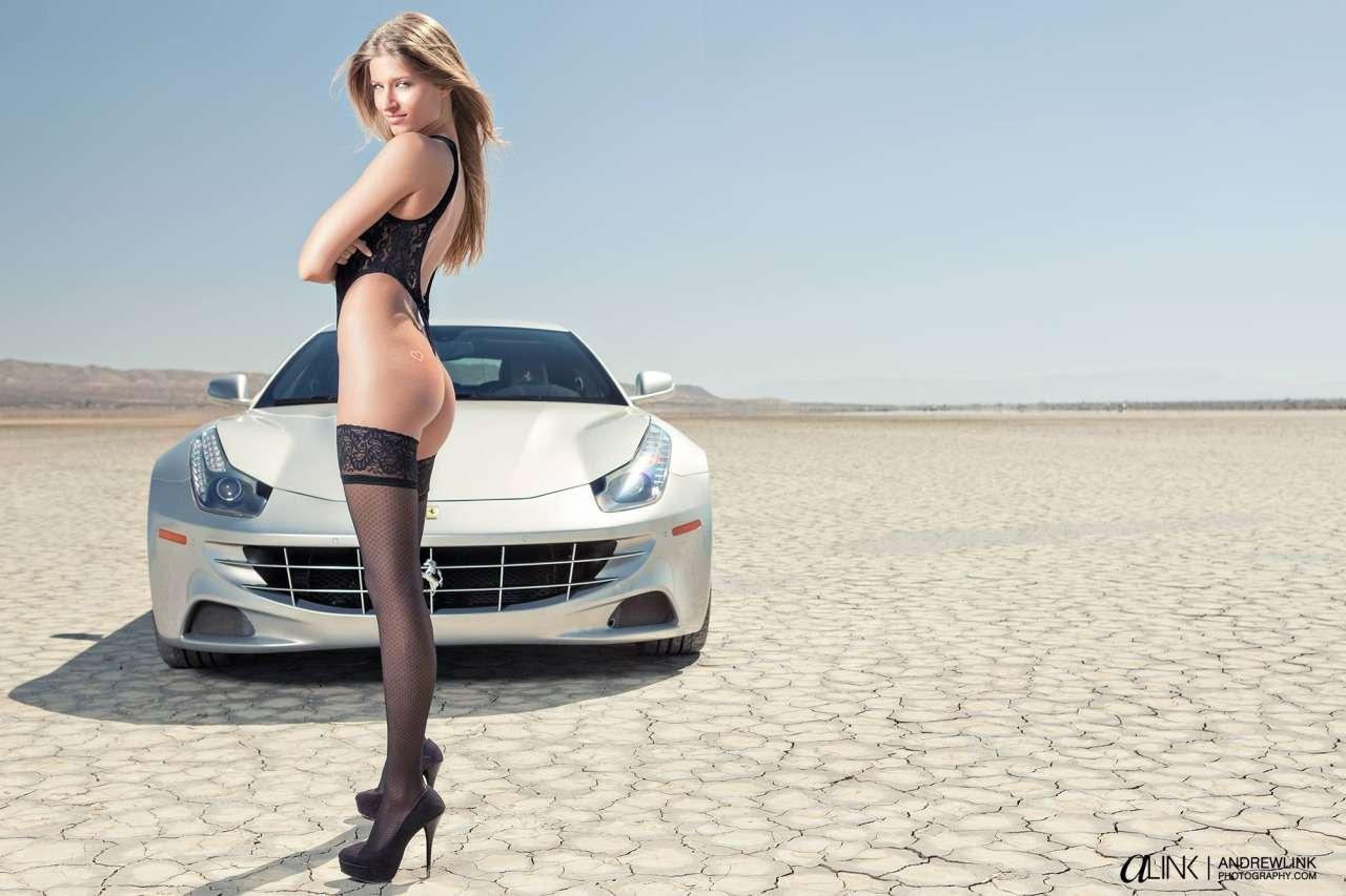 Сексуальные девушки и автомобили (часть 25)