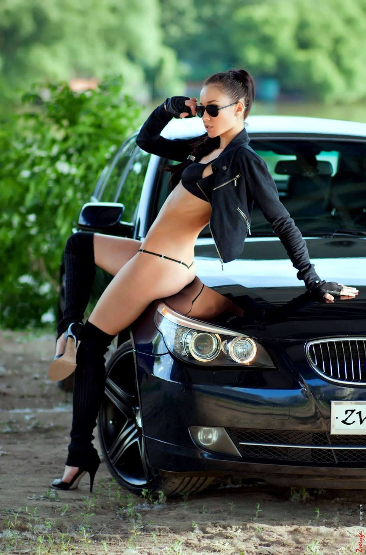 1441843087 017 - Сексуальные девушки и автомобили (часть 17)