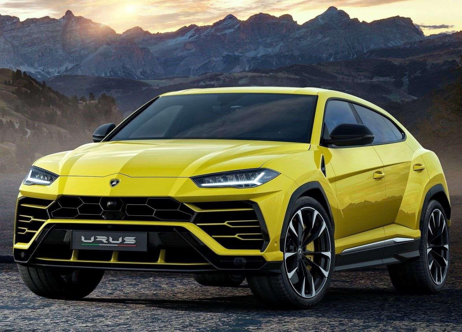 1512662955 svetoidodna optika lamborghini urus 2019 - Обзор кроссовера Lamborghini Urus 2019