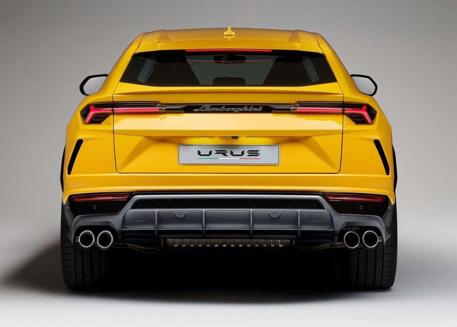 Обзор кроссовера Lamborghini Urus 2019
