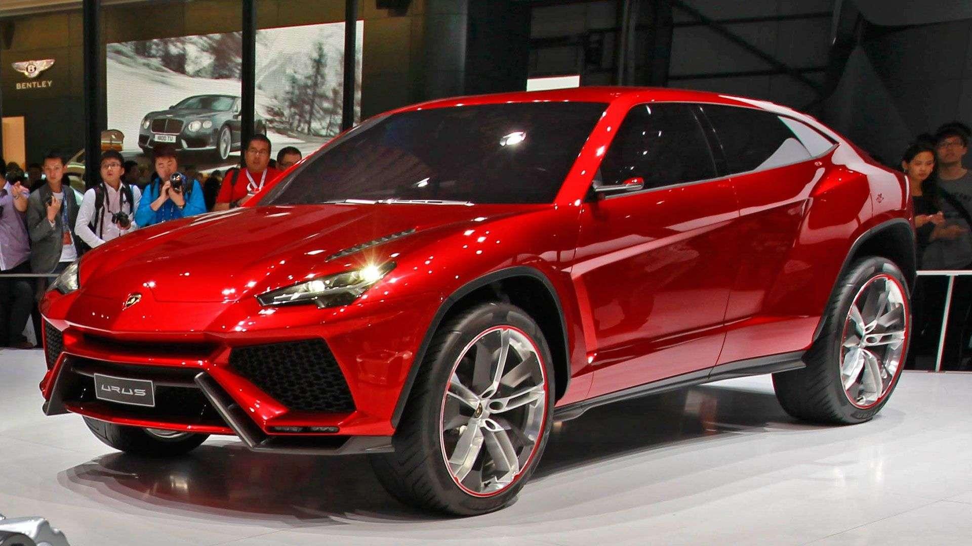 1512663117 koncept model lamborghini urus 2019 - Обзор кроссовера Lamborghini Urus 2019