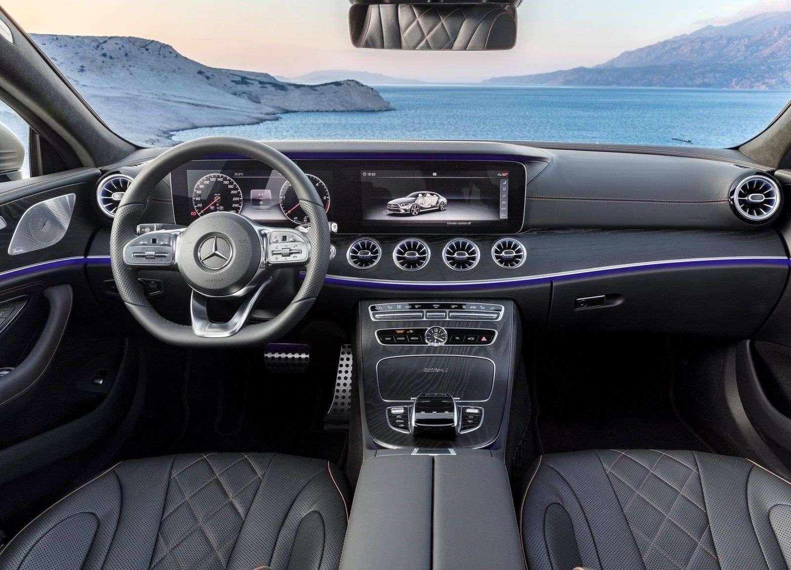 Названы цены на новый Mercedes-Benz CLS 2018!
