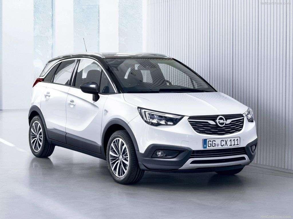 Opel Crossland X 2017-2018 в новом кузове комплектации цены фото технические характеристики и видео тест драйв