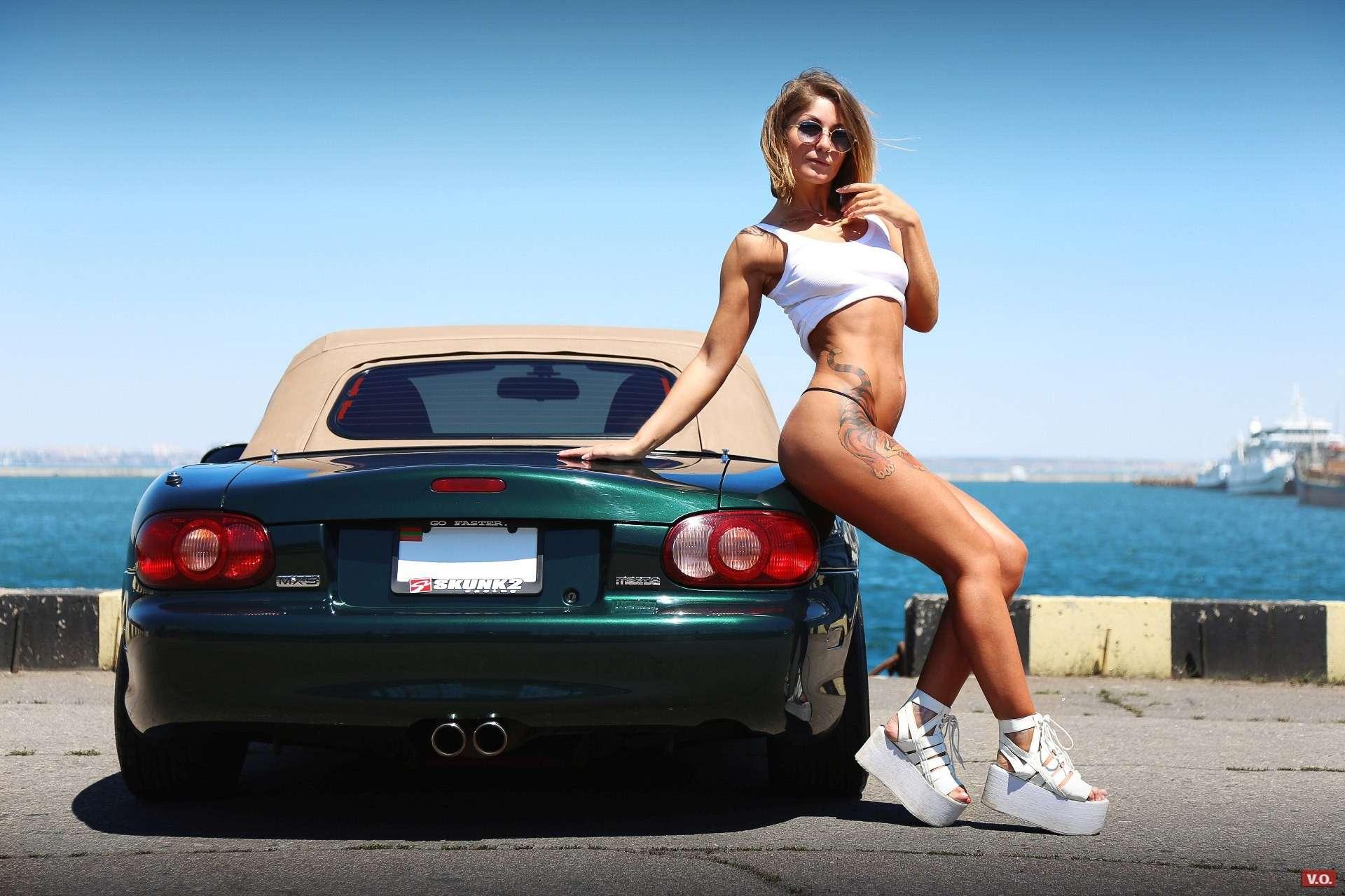 213878 - Сексуальные девушки и автомобили (часть 17)
