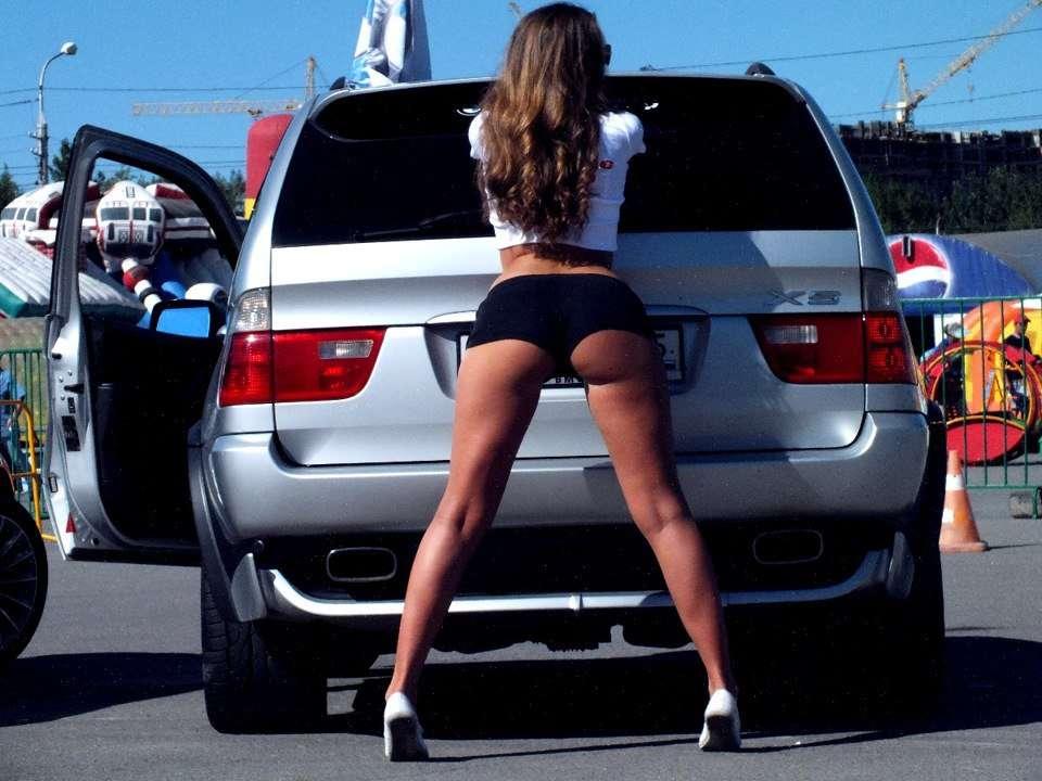 Сексуальные девушки и автомобили (часть 20)