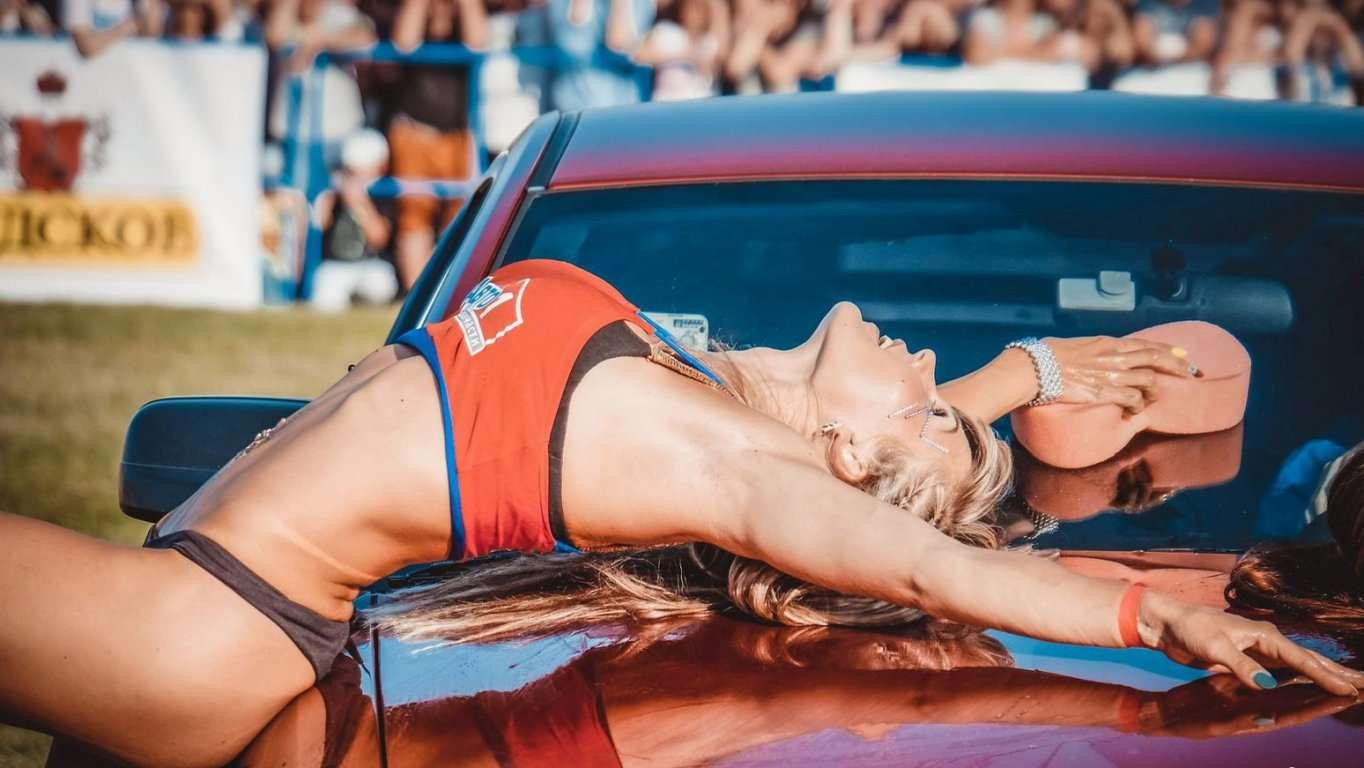 709659 - Сексуальные девушки и автомобили (часть 26)