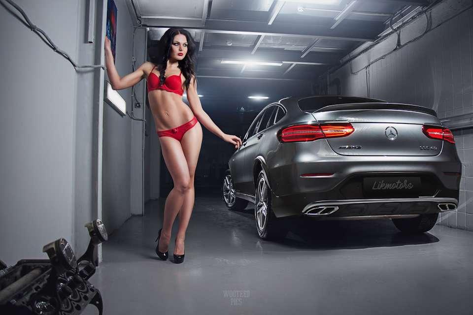 Сексуальные девушки и автомобили (часть 14)
