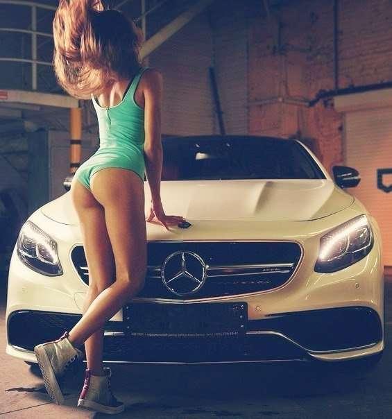 alEmi mBJ0s - Сексуальные девушки и автомобили (часть 17)