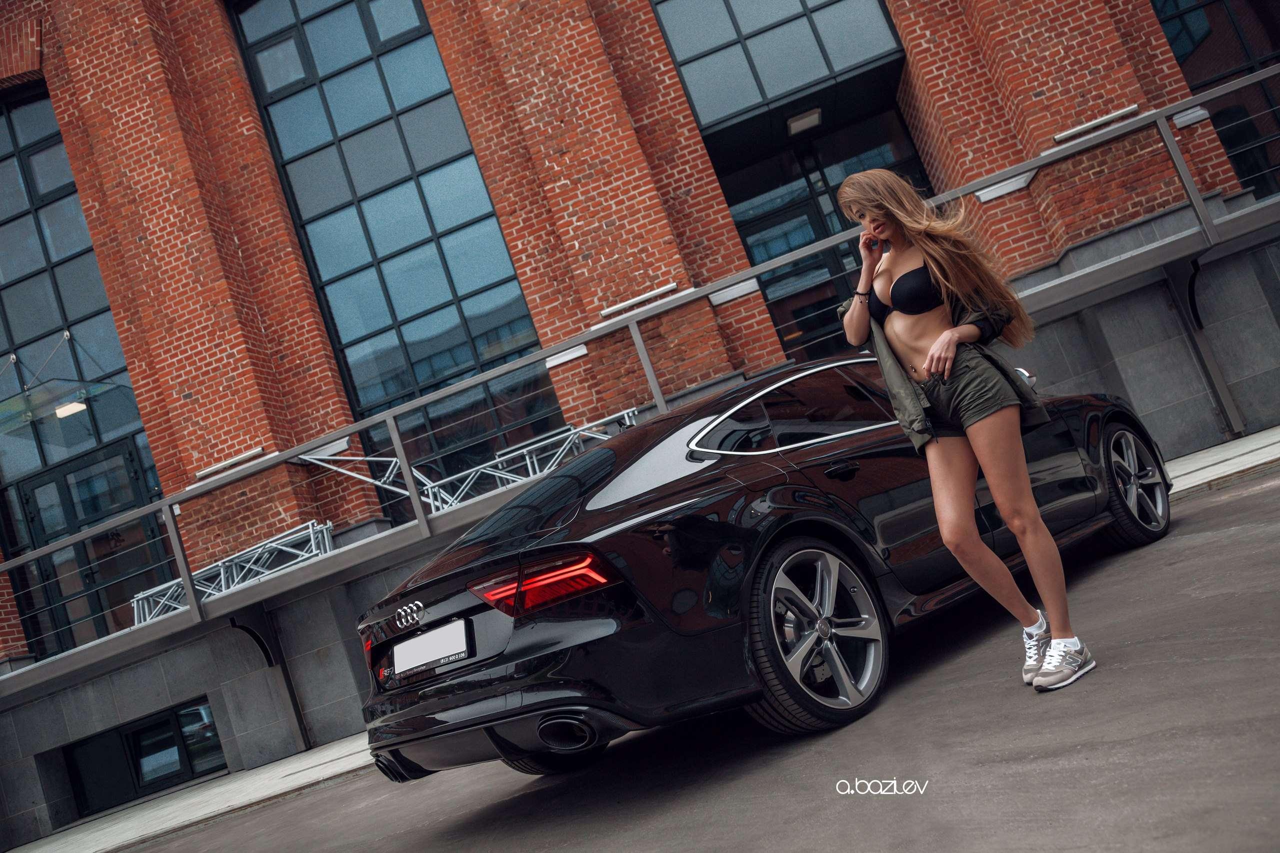 Сексуальные девушки и автомобили (часть 10)