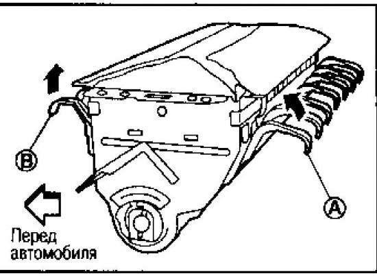 qashqai066000p3 - Как заменить подушку безопасности своими руками?