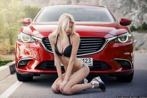 Сексуальные девушки и автомобили (часть 8)
