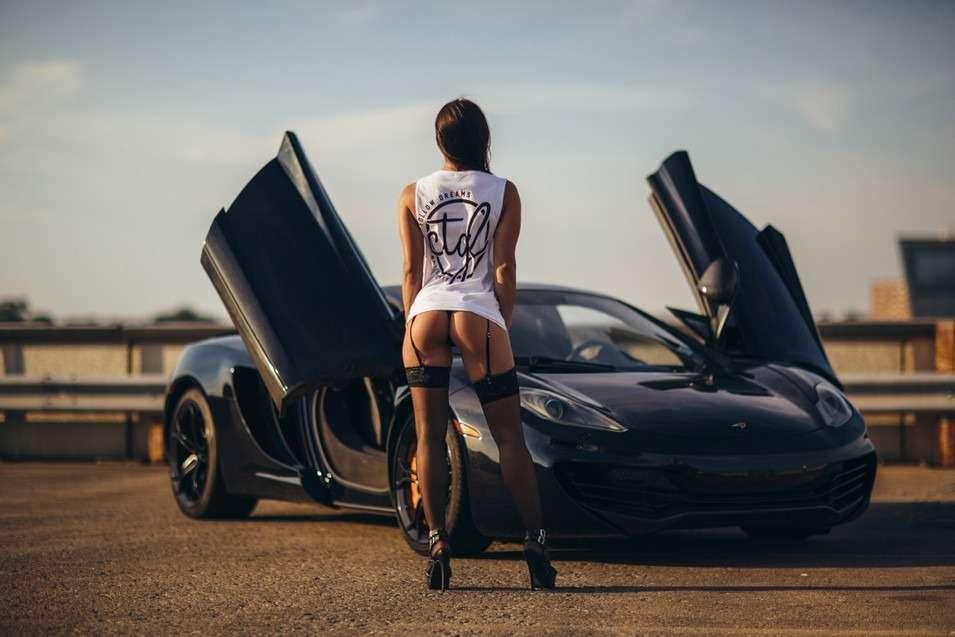 006 - Сексуальные девушки и автомобили (часть 31)