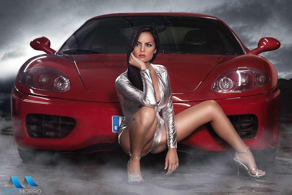 032 - Сексуальные девушки и автомобили (часть 31)