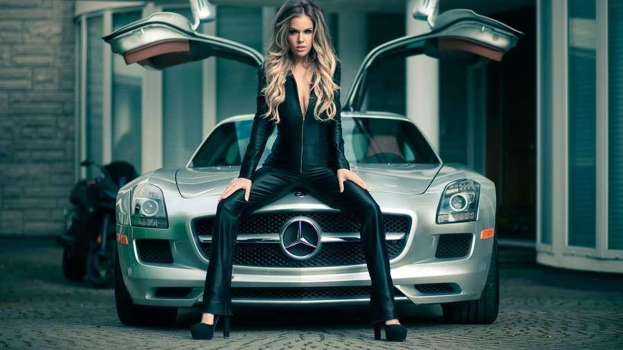 121925 - Сексуальные девушки и автомобили (часть 31)