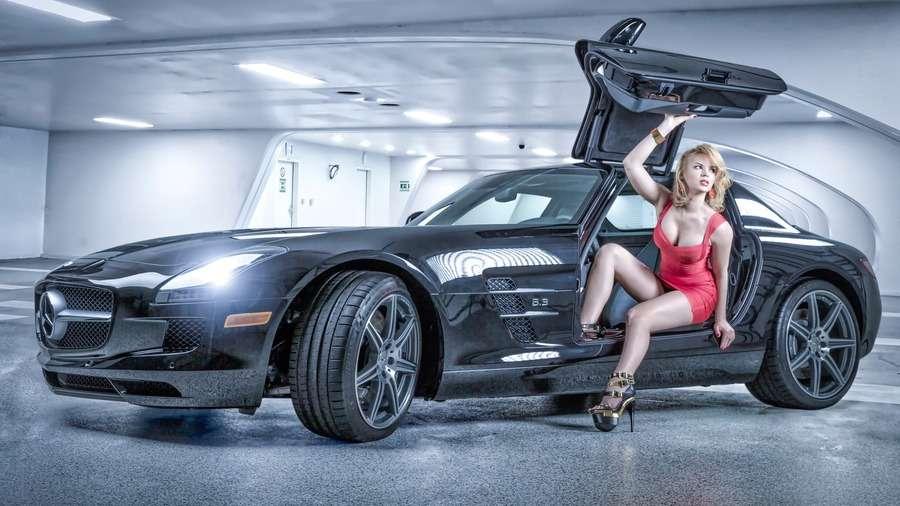 124889 - Сексуальные девушки и автомобили (часть 31)
