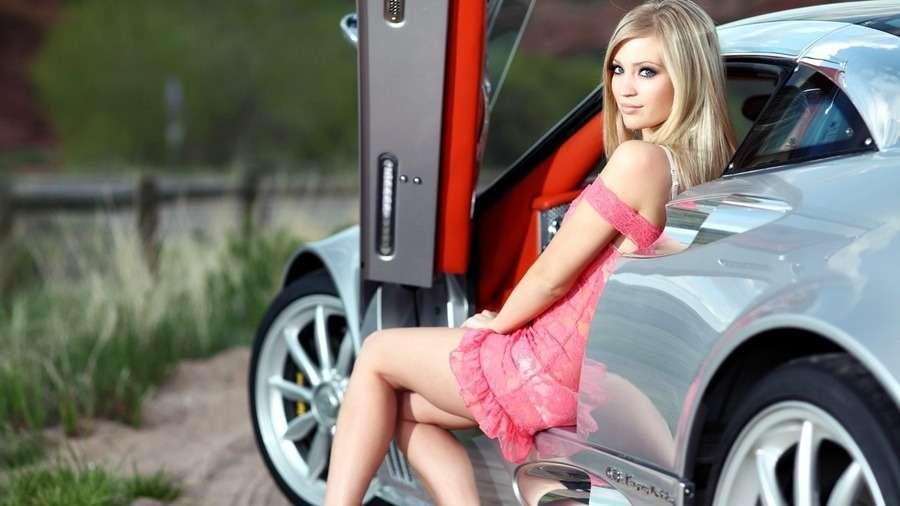 155726 - Сексуальные девушки и автомобили (часть 31)