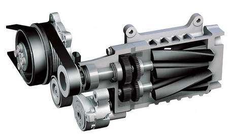 kompressor privod - Как увеличить мощность двигателя автомобиля?