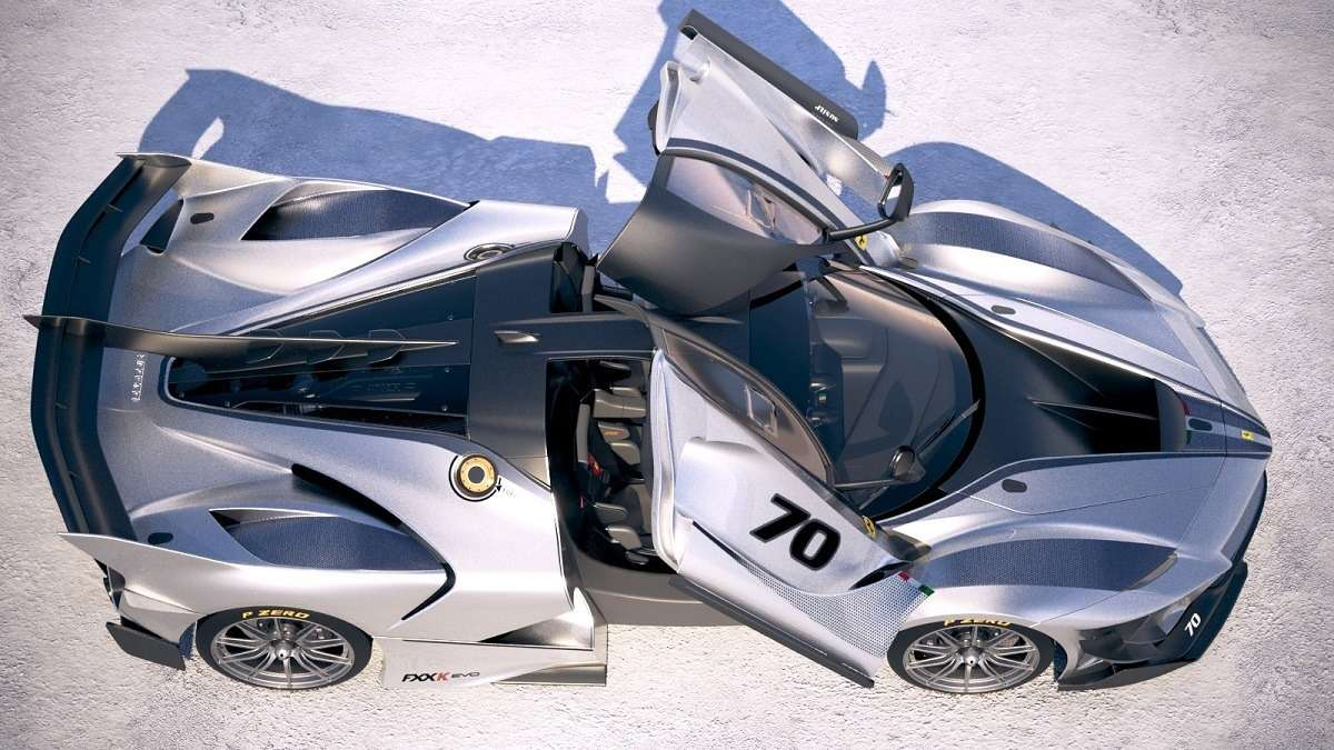 Видео-обзор Ferrari FXX-K Evo 2018